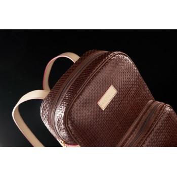 Modelo mochila trenzada